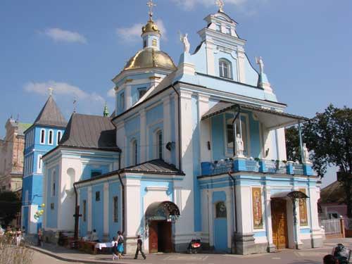 місто Самбір - Церква Різдва Пресвятої Богородиці