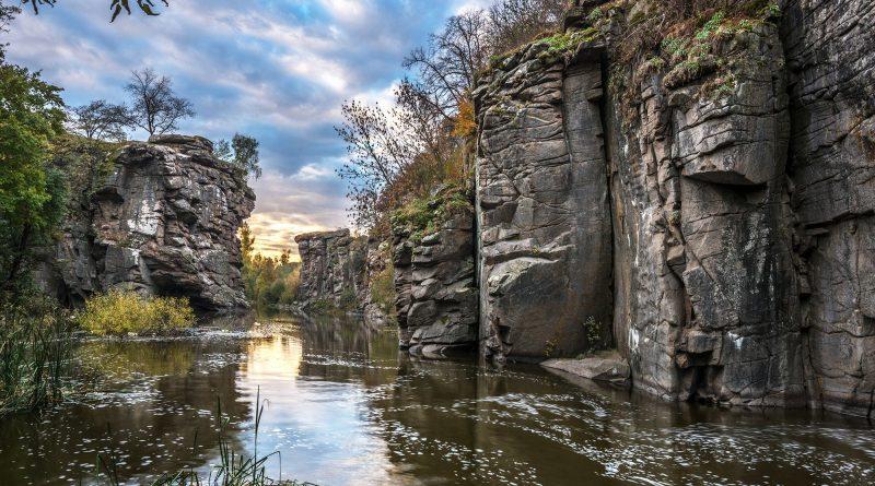 Буцький каньйон - с. Буки, Черкаська область