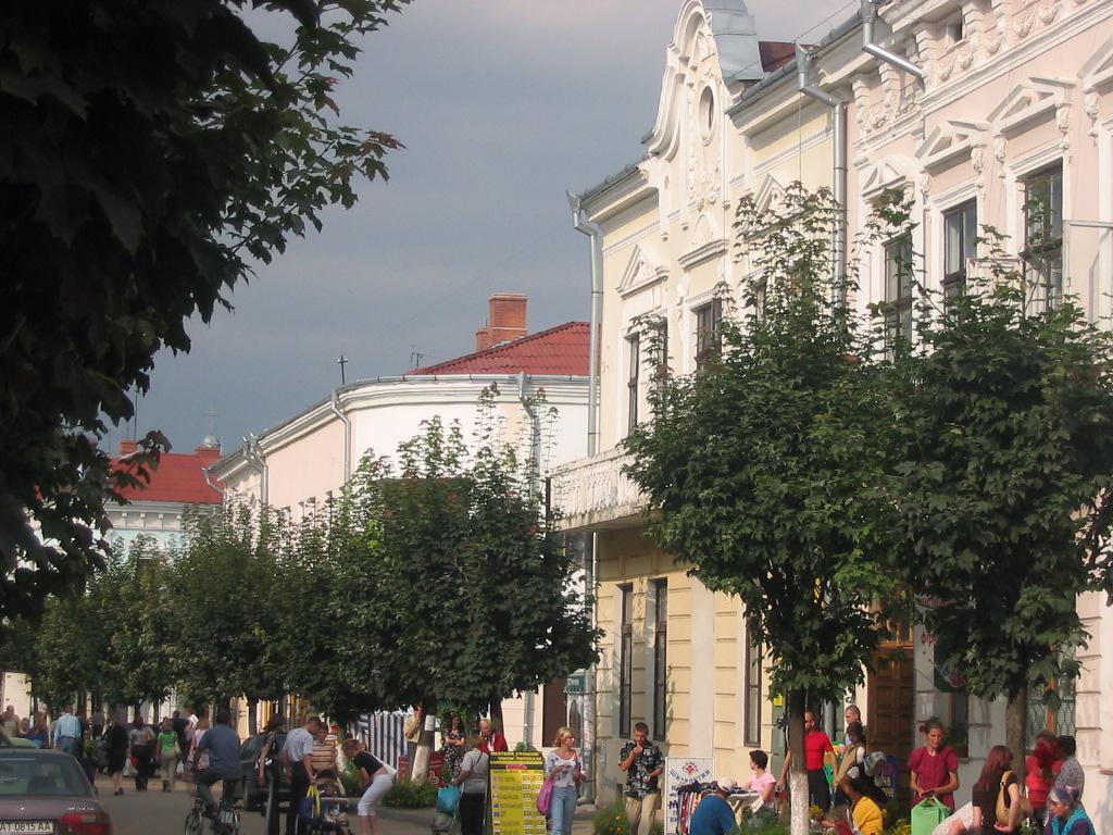 Коломыя. Центр города
