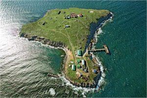 Фото з повітря острова Зміїний