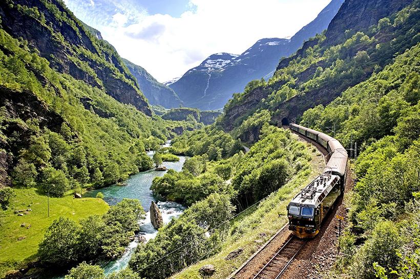 Поїзд The Bergen Line