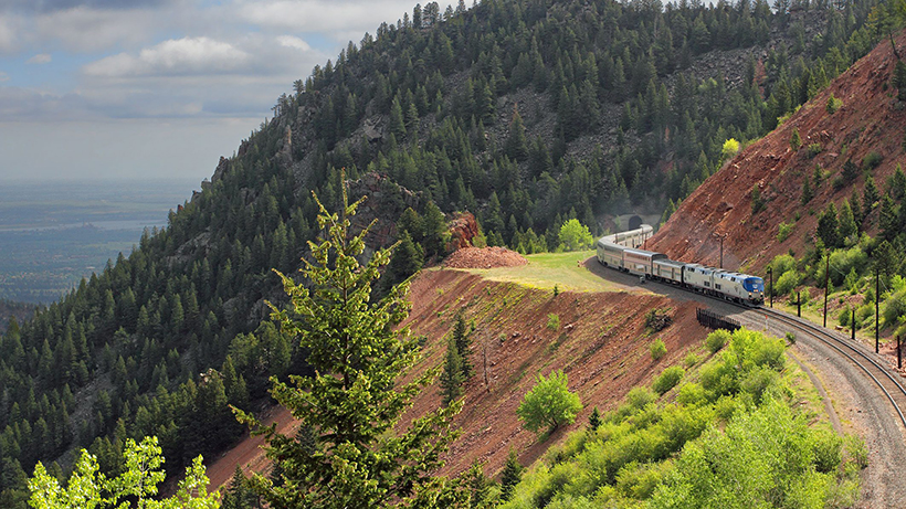 Поїзд The California Zephyr
