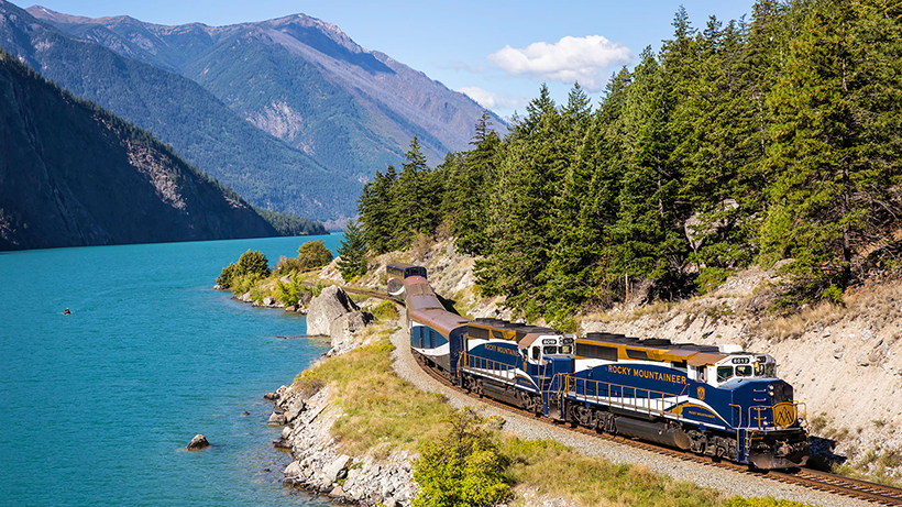 Поїзд The Rocky Mountaineer