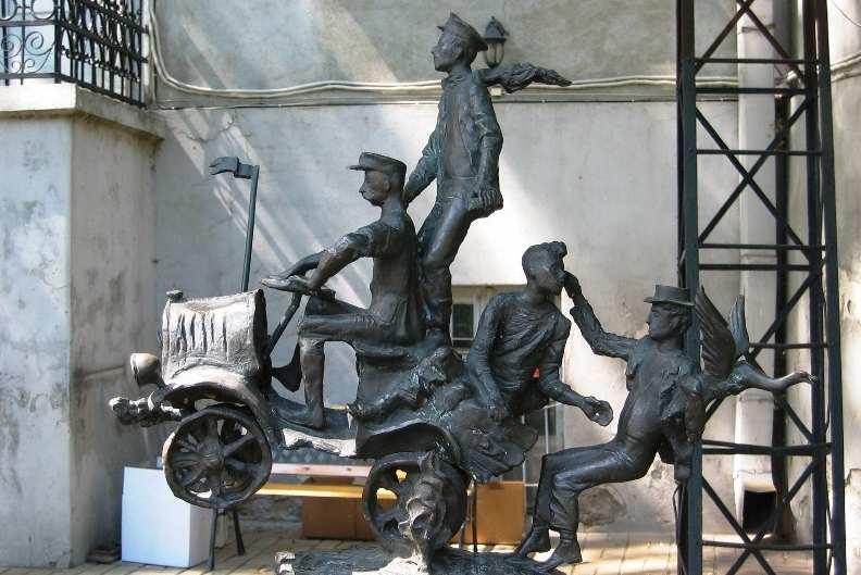 Пам'ятник, улюблений одеситами «ілюстрація» — «Эх, прокачууу!»
