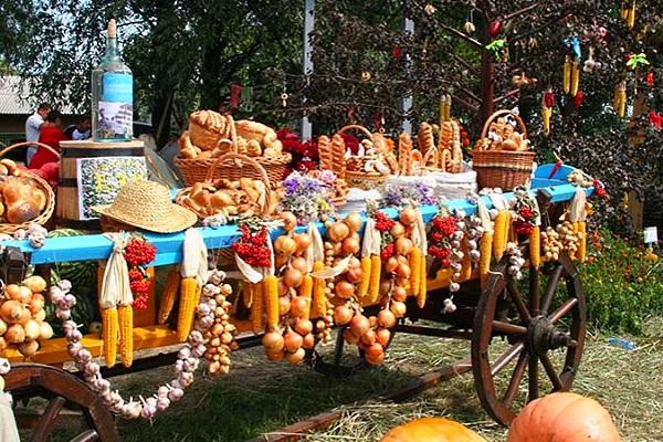 Фото сельскохозяйственной продукции с Сорочинськой ярмарки