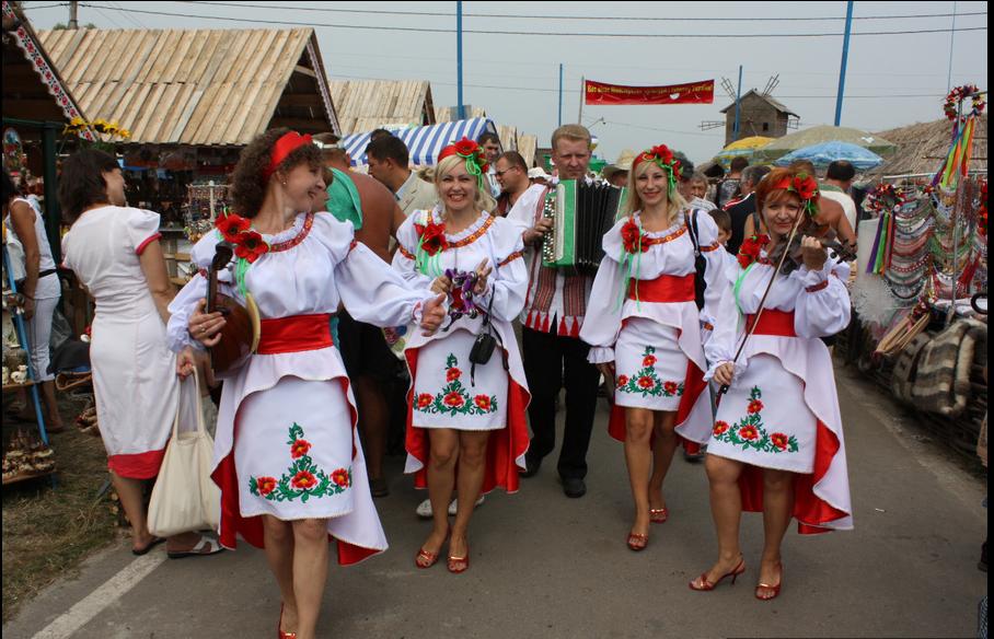 Артисты на Сорочинской ярмарке