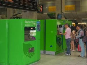 Автомат по продаже билетов RER