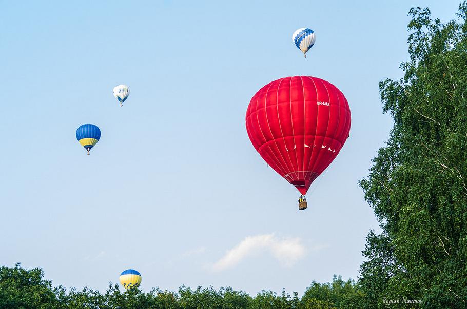 Что делать на День независимости - Полет на воздушном шаре Фестиваль воздушных шаров Александрийская феерия