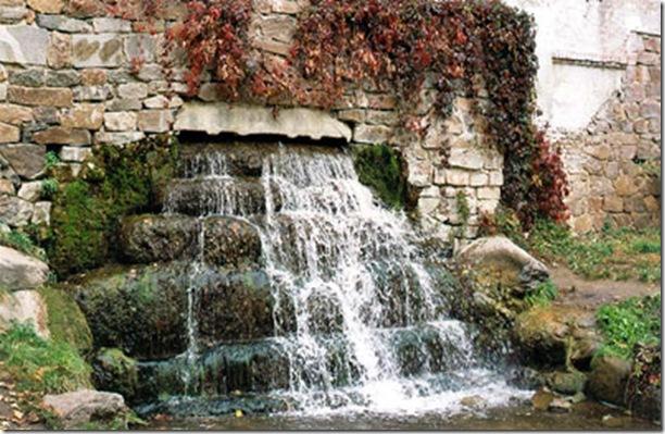 Водопад дендропарк Александрия Белая церковь