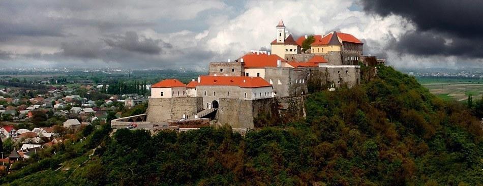 Замок Паланок в закарпатском городе Мукачево