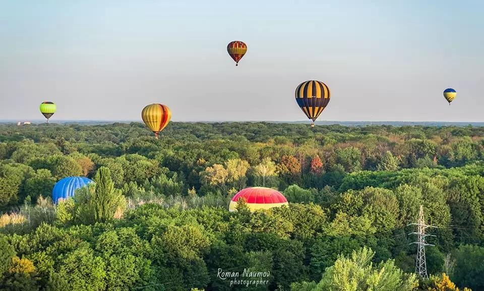 Что делать на день независимости - Полет на воздушном шаре над Белой церковью