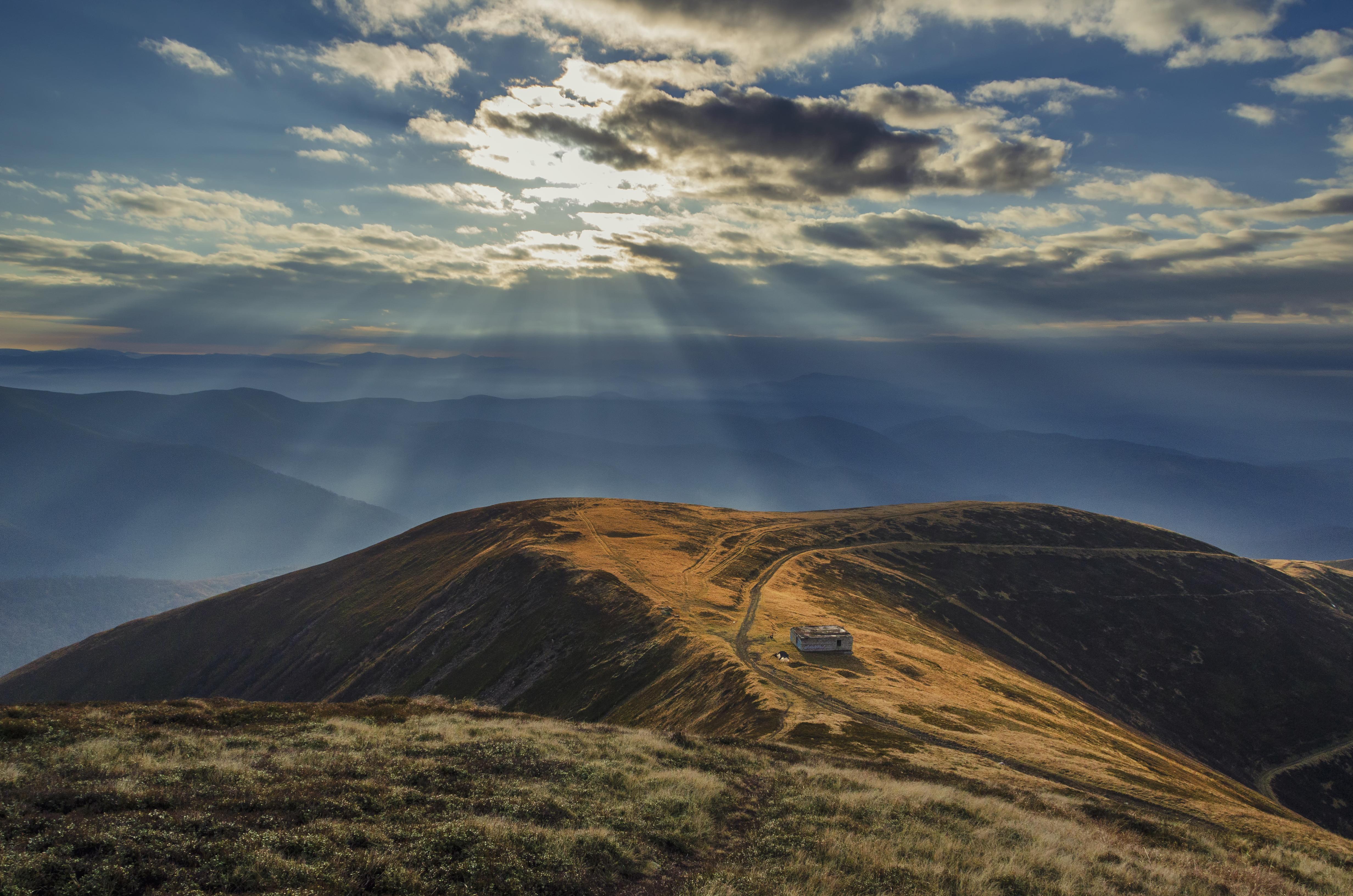 Гора Стій (Карпати) у жовтні