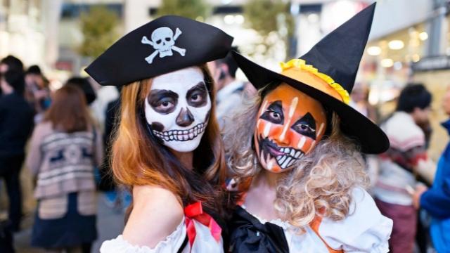Хеллоуин в Шалиндре, Франция