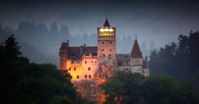 Куда поехать на празднование Хеллоуина - в Трансильванию Румыния Дракула