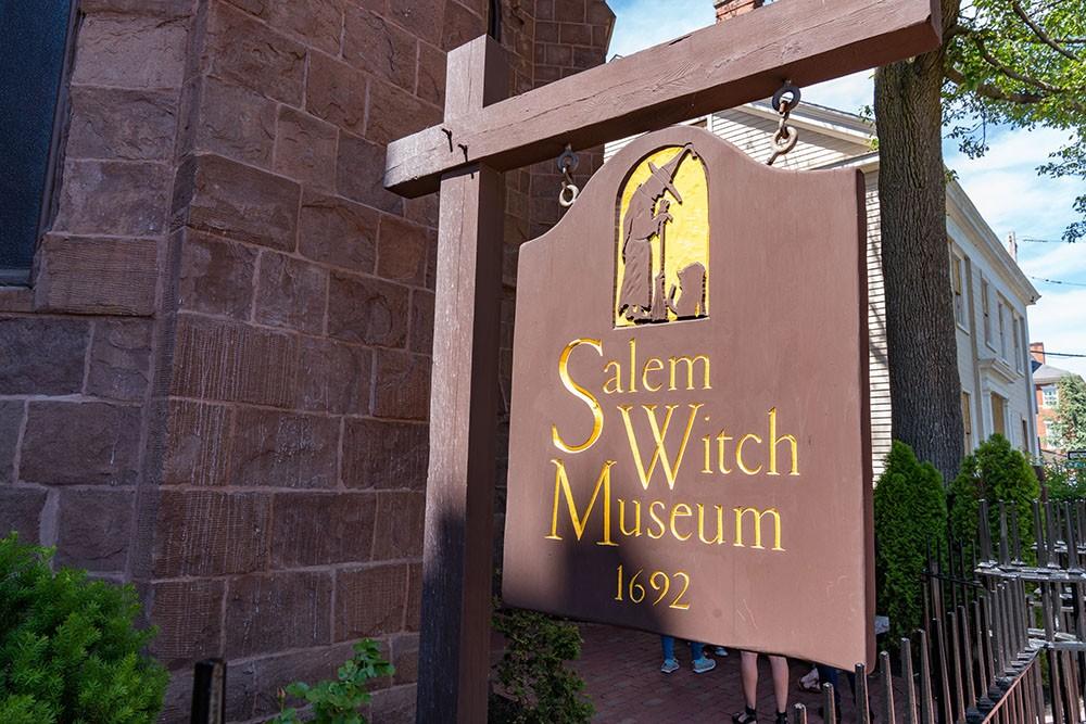 Музей відьом у Салемі,  США
