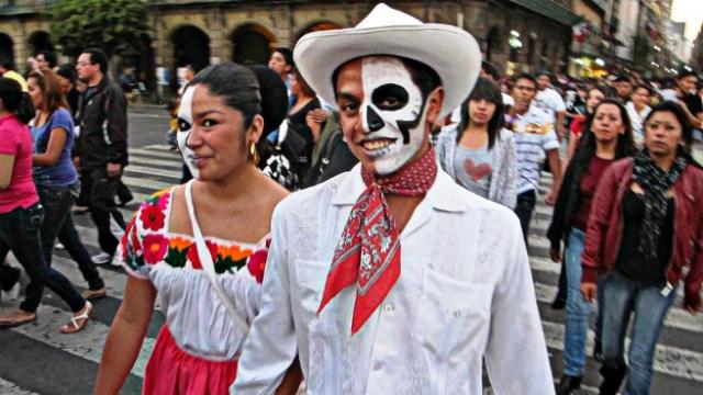 Празднование Хеллоуина в Мексике