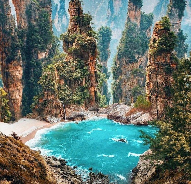 Національний лісовий парк Чжанцзяцзе фото