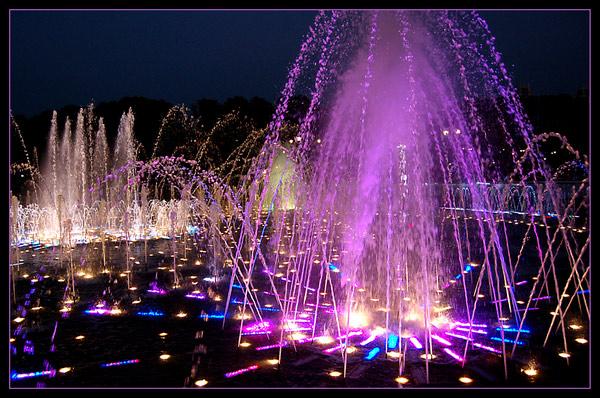 Светомузыкальный фонтан «Рошен», Винница